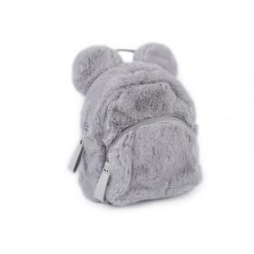 Dievčenský stredný chlpatý batôžtek Medveď sivý