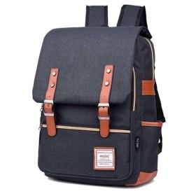 RETRO Textilní batoh Mein Tamvo šedý