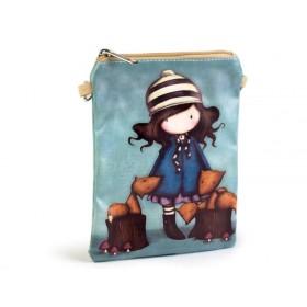 Dievčenská kabelka cez rameno Dievča a líška