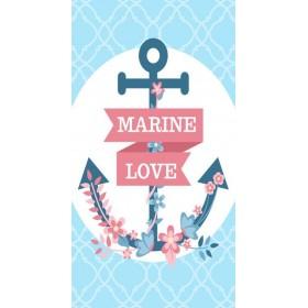 Plážový uterák 170x90cm Kotva Marine