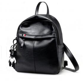 Stredný batôžtek CLASSIC REBEL Čierny