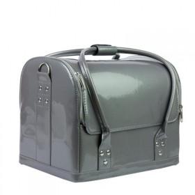 Luxusná taška na kozmetiku MODEL 01 sivý