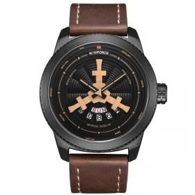 NAVIFORCE Pánske hodinky 9156 Čierne