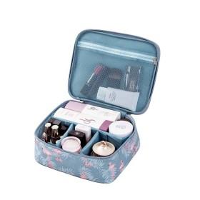 Travel cestovné organizér na kozmetiku Plameniaky