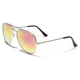 Slnečné okuliare zeleno-purpurove zrkaldovky