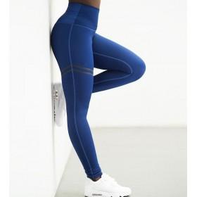 Dámske Športové legíny Fitness Modré
