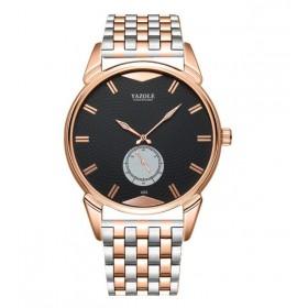 Yazole Luxury pánske elegantné hodinky 405 Zlaté