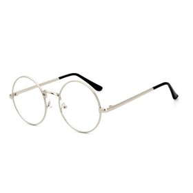 Nedioptrické okuliare lenonky strieborné