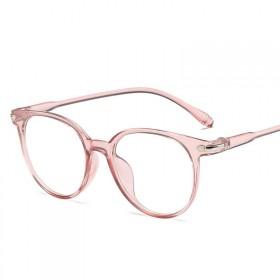 Antireflexné okuliare bez dioptrii Eye-care Ružové