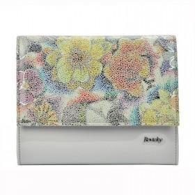 Rovicky elegantná kabelka Flower šedá
