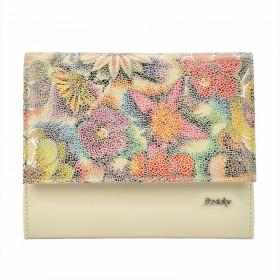 Rovicky elegantná kabelka s Flower Béžová