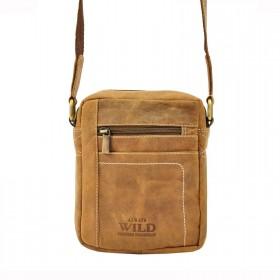 Always Wild pánska kožená taška TAN