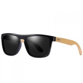 Retro drevené polarizačné slnečné okuliare RPZ8102