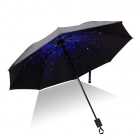 Dámsky skladací dáždnik Nočná obloha