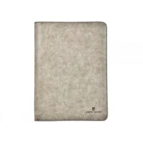 Pierre Cardin spisovka na dokumenty s krúžkami Sivá