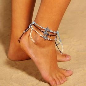 Dámsky Set Boho náramkov na nohu Korytnačky