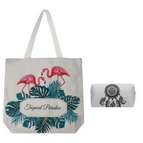 Cavaldi nákupný set s puzdrom Tropical Paradise