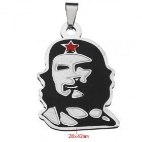 Prívesok z chirurgickej ocele Che Guevara
