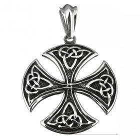 Prívesok s retiazkou z chirurgickej ocele Celtic Ornament