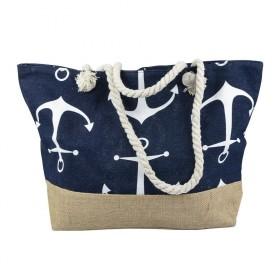 Dizajnová Plážová taška Kotva námornícka