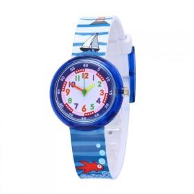 Chlapčenské silikónové hodinky Námorník