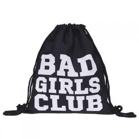 Plátený vak s 3D potlačou Bad Girls Club