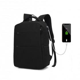 Batoh s USB a Audio portom Smart Charge - Čierny