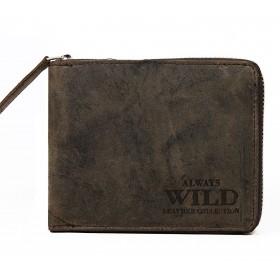 Always Wild pánska kožená peňaženka Italy