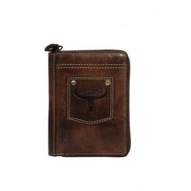 Buffalo Wild pánska kožená peňaženka Rust
