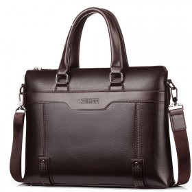 Weixier pánska taška Diplomatic DR15876 Hnedá