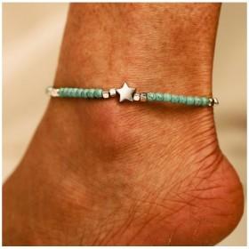 Dámsky náramok na nohu STAR