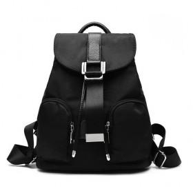 Menšií sťahovací batôžtek CLEO Čierny