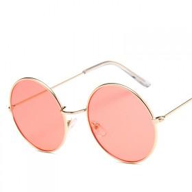 Dámske slnečné okuliare lenonky ružové