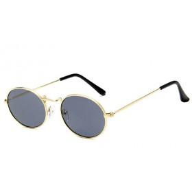 Oválne slnečné okuliare Ellipse Zlato - dymové