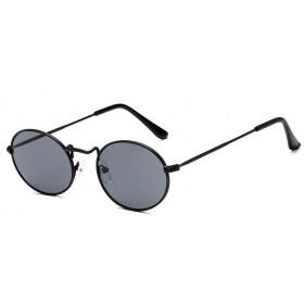 Oválne slnečné okuliare Ellipse Černé- Dymové