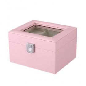 Box na šperky organizér Ružový