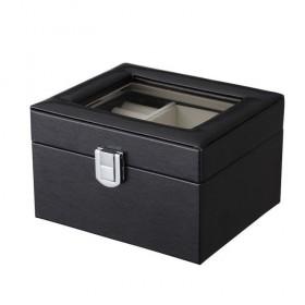 Box na šperky organizér Čierny