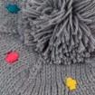 Dámska baretkaka kropia s brmbolcom