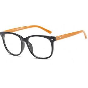 Okuliare s čírymi sklami bez dioptrii Stars Wood