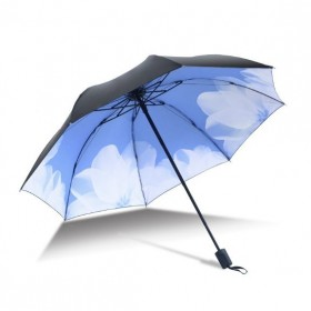 Dámsky skladací dáždnik Lekno