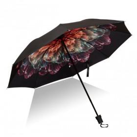 Dámsky skladací dáždnik Farebný kvet