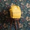 Himawari mestský batoh s USB NR7 Fialový