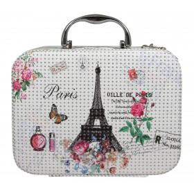 BMD kozmetický kufrík Kocka s kryštálmi Paríž