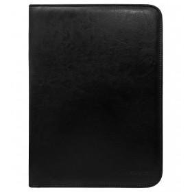 Rovicky spisovka na dokumenty s krúžkami Čierna