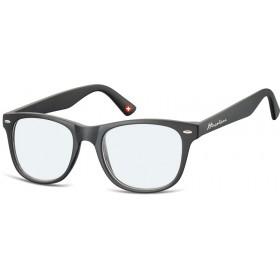Antireflexné okuliare na počítač bez dioptrii MX67 čierne