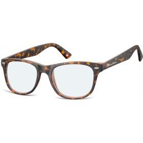 Antireflexné okuliare na počítač bez dioptrii MX67 žíhané