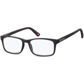 Antireflexné okuliare na počítač bez dioptrii MX73 čierne