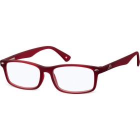 Antireflexné okuliare na počítač bez dioptrii MX83B červené