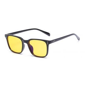 Okuliare na počítač pre hráčov Anti Blue Ray YWEC8 - čierne