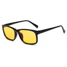 Okuliare s filtrom modrého svetla bez dioptrii KWE11- Čierne